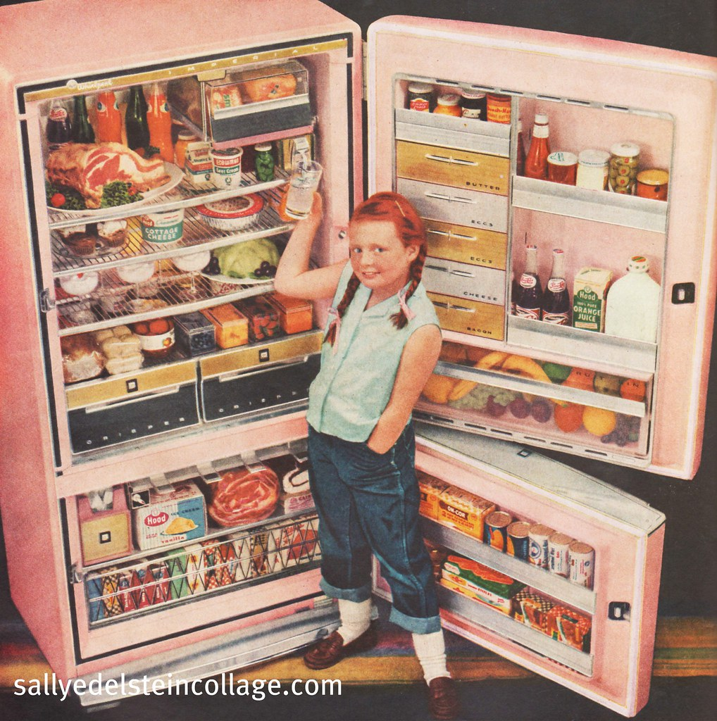 Quot Rca Whirlpool Refrigerator Ad 1957 Blog Website Post