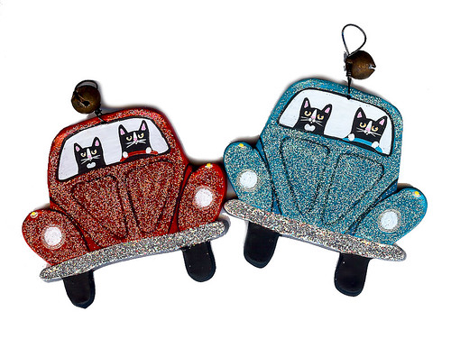 Volkswagen Beetle Christmas Ornament