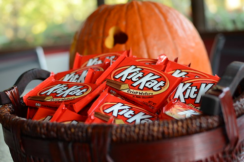 Kit Kat Bars for Halloween | by slgckgc