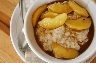 oatmeal maple sauteed apples 6 | by crumblycookie