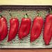 Roasting kapia peppers