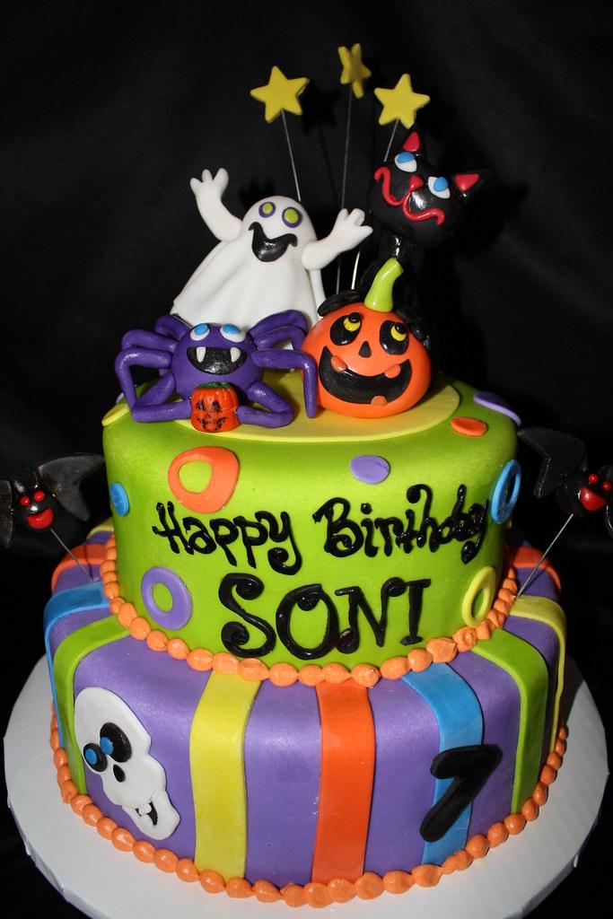 Halloween Birthday Cake Busy B Cakes Flickr