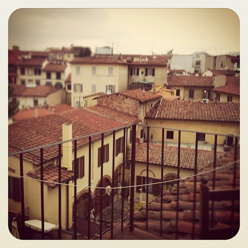 Florence - View from the Hostel | by Elissa @ 17 and Baking
