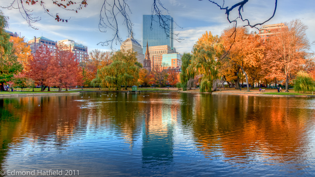 Beautiful fall morning in boston public garden img 3968 69 flickr Boston public garden map