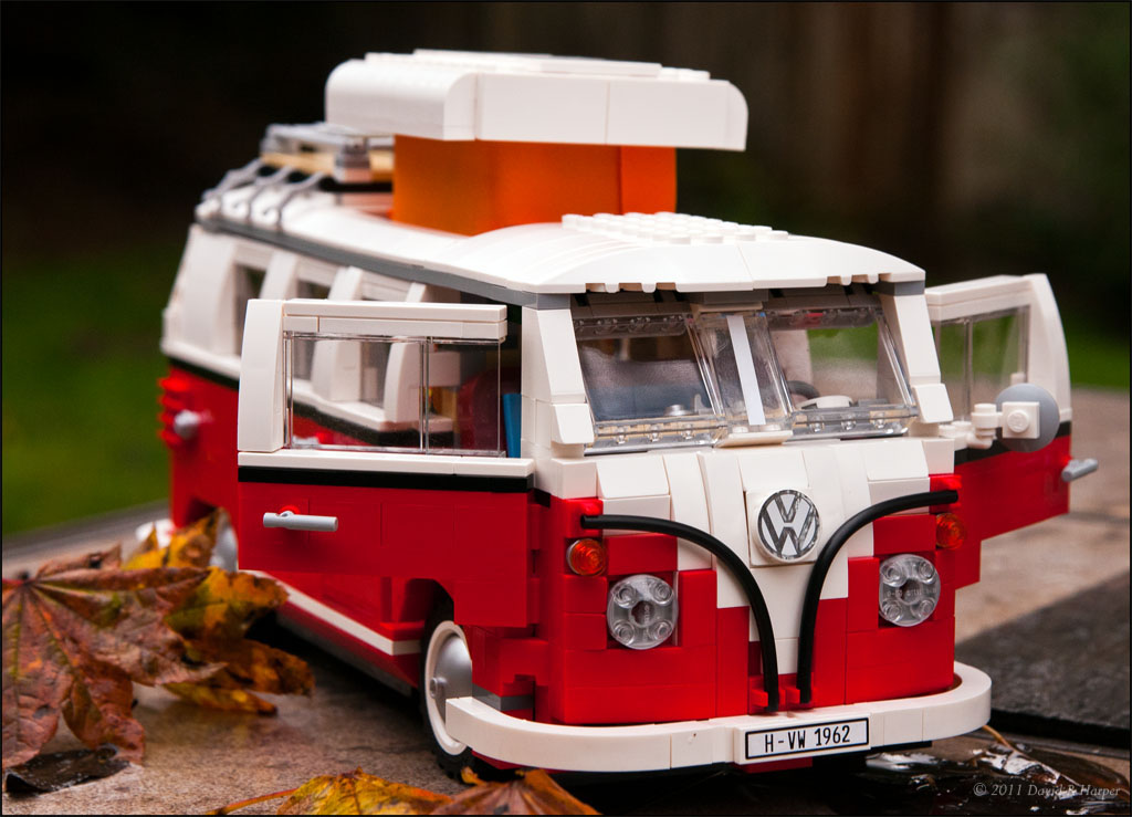 Day 317 :: 365 ..::.. Lego Love - 1962 VW Van | Lego has rel… | Flickr