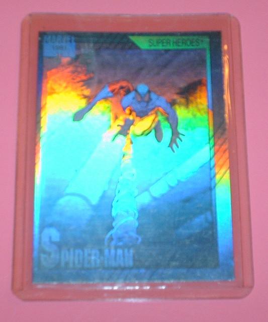 Marvel Hologram Card