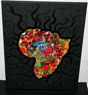 "AFRICA 16"" x 20"" Canvas 