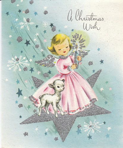 Christmas Card, late1950's | by RabbitRaiments