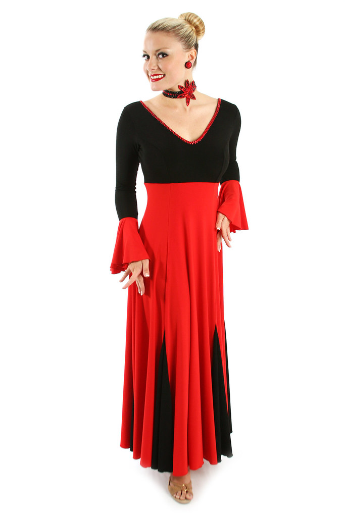 Two-Tone Tango MS0911 Black & Red American Smooth Ballroom…   Flickr