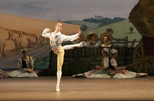 Steven McRae as Colas in La Fille Mal Gardee © Tristram Kenton/ROH 2010 | by Royal Opera House Covent Garden