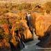 Namibia experience : sunset on Epupa Falls