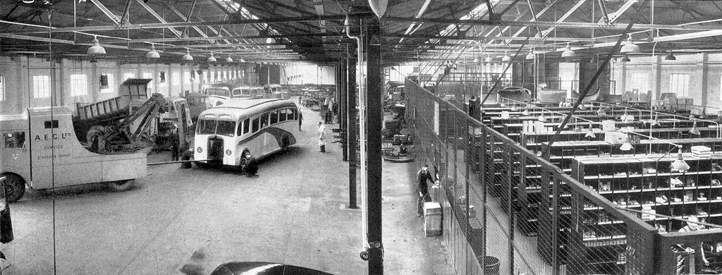 Aec Service Depot St Helens 1950 51 The Impressive