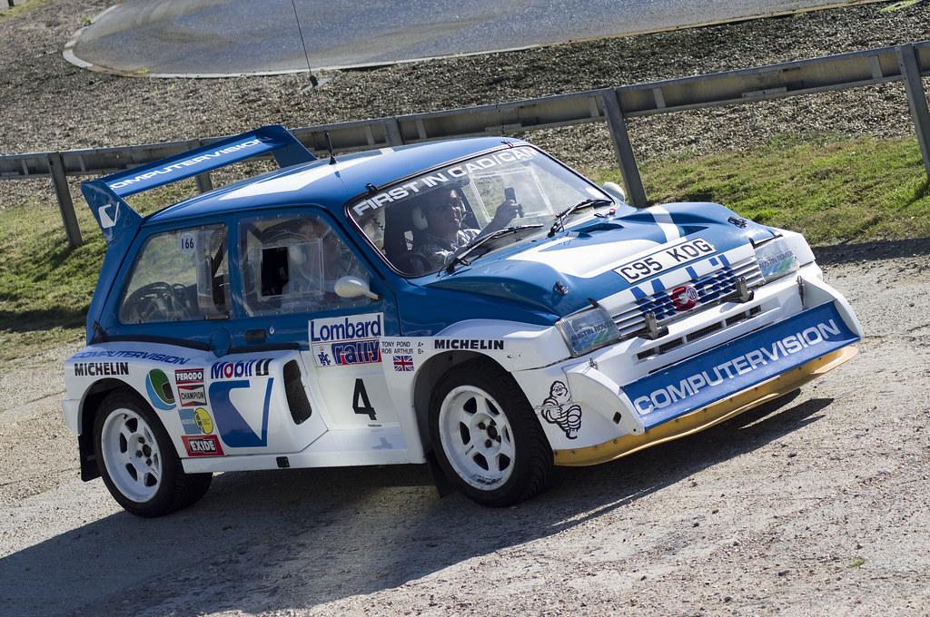 1986 Austin Rover Metro 6R4 Rally Car | 1986 Austin Rover Me… | Flickr