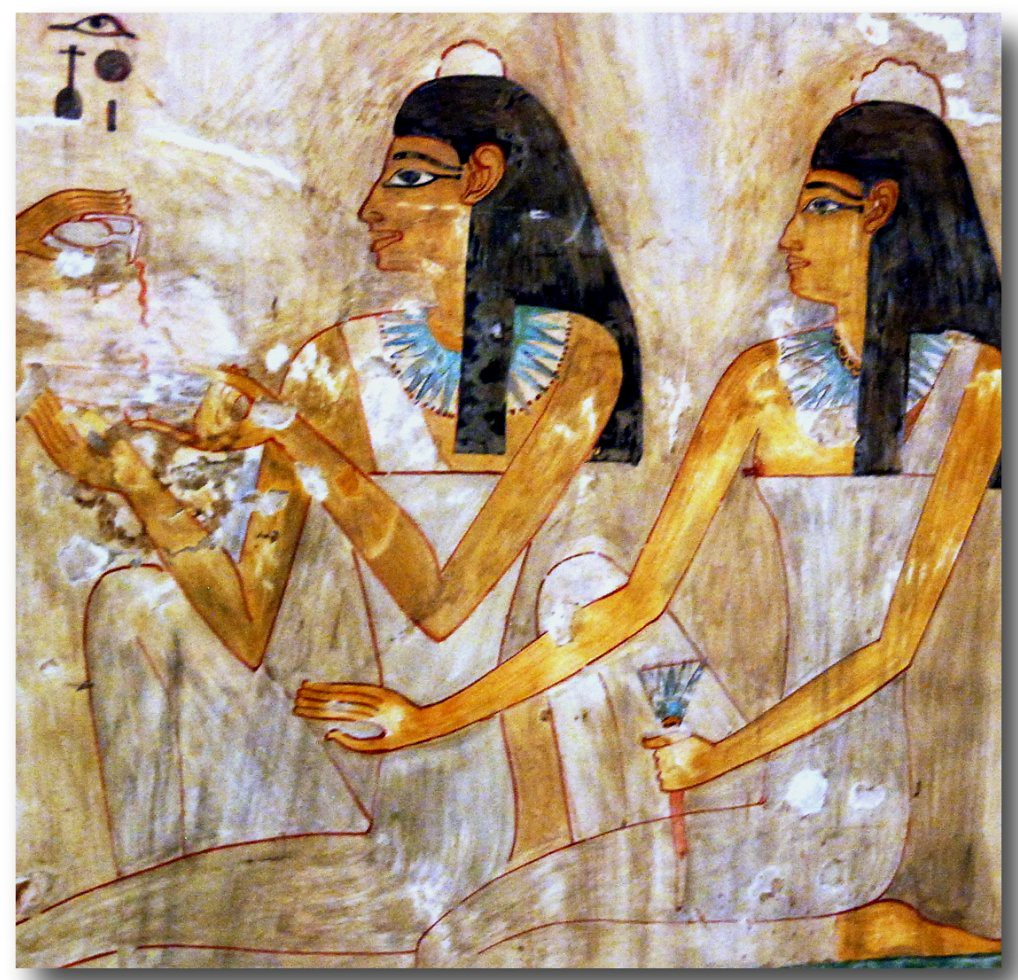 Women In Ancient Egyptian Art 011  Facsimile-Series Of -5539