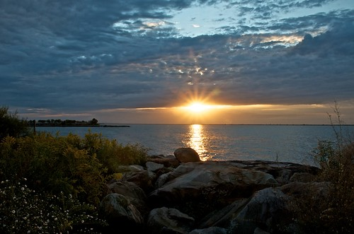 Lake Erie Sunset | by Don Iannone
