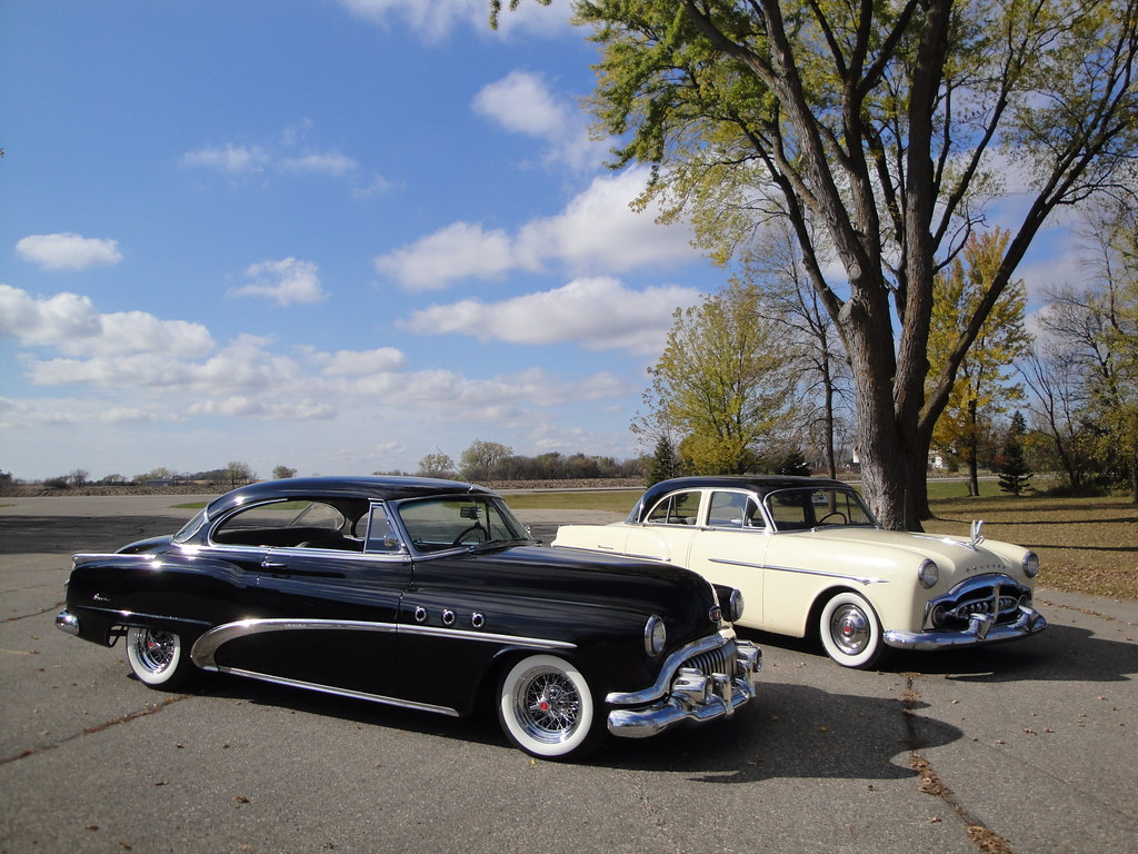 New Buick Cars >> 51 Packard 300 & 52 Buick Special | Now that Bud is mostly ...