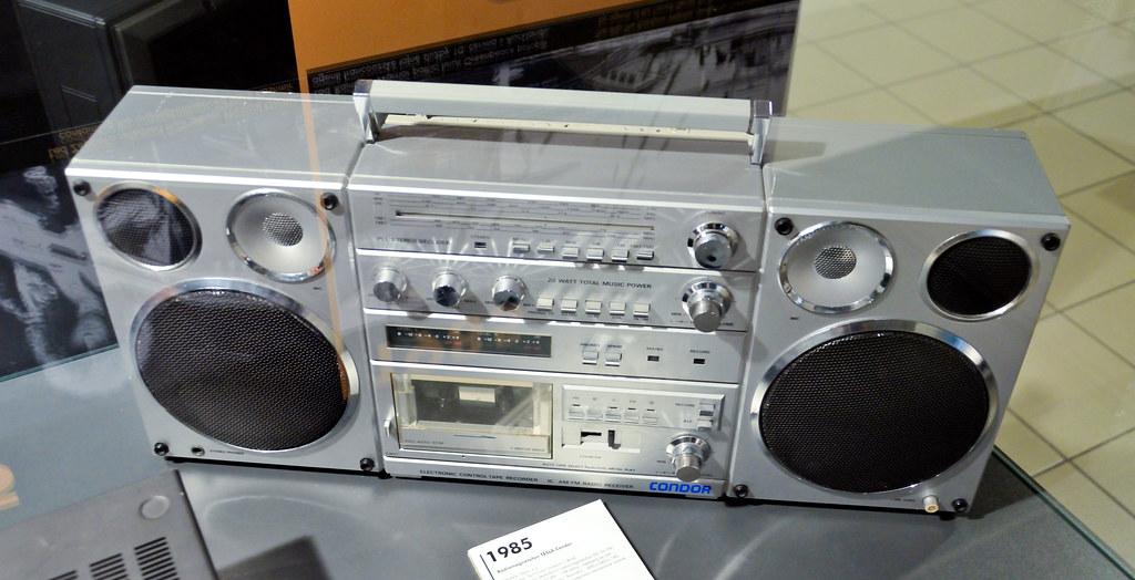 Tesla Condor Radio Recorder 1985 Thomas T Flickr
