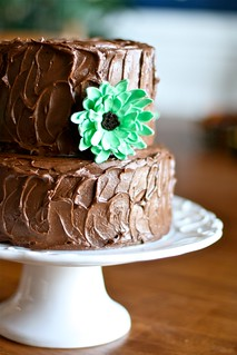 green flower cake | by Hungry Housewife