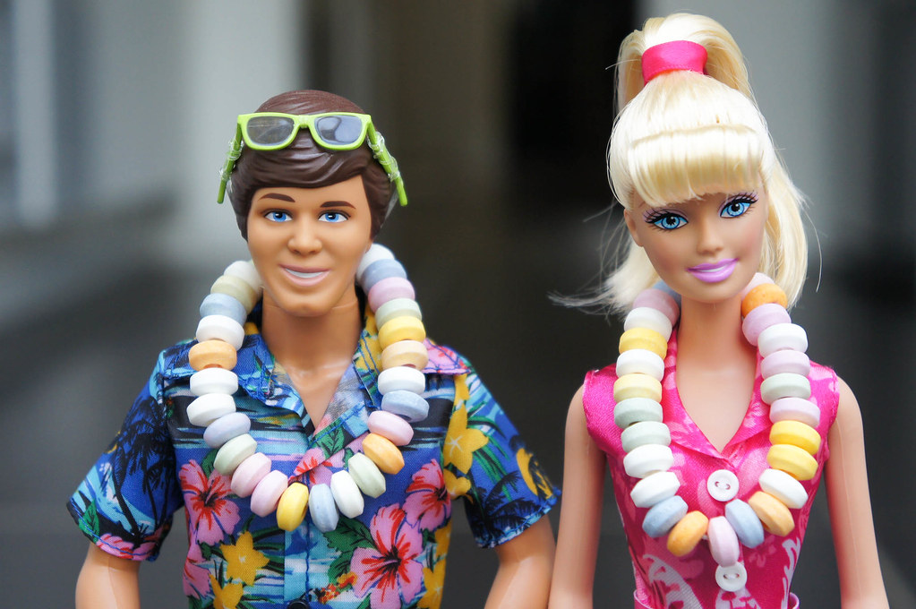 Ken And Barbie From Toy Story Hawaiian Vacation Short Fi Flickr