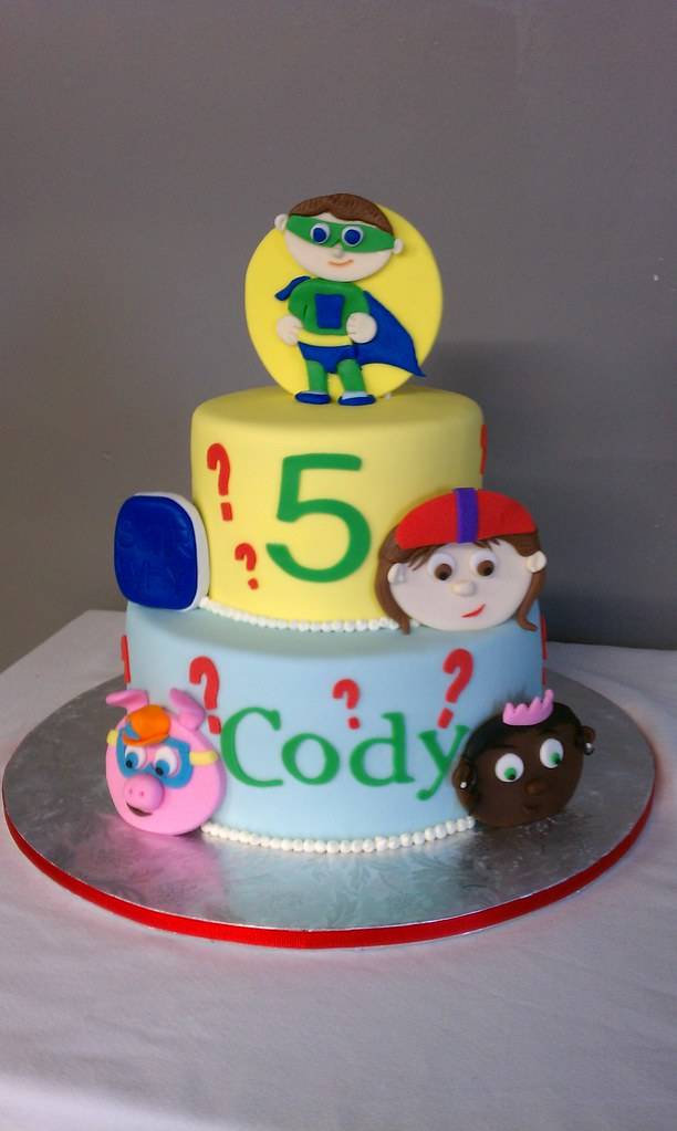 Super Why Birthday Cake Pan