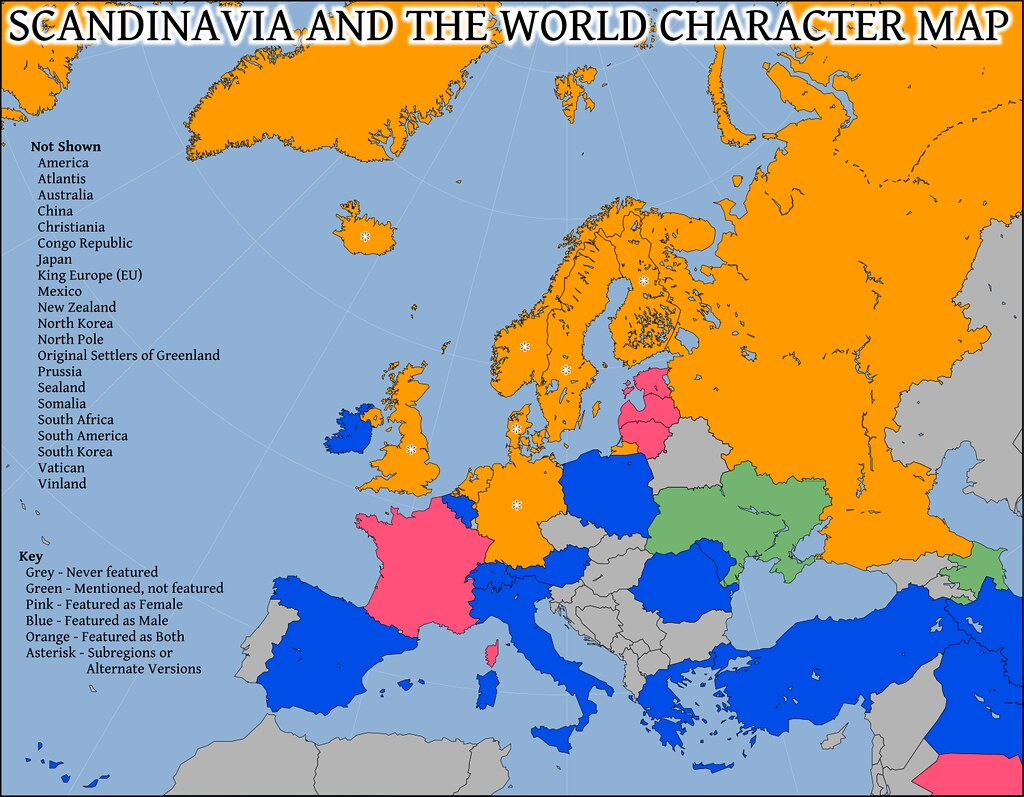 Scandinavia And The World Map Greetings Visitors From The Flickr - Europe map scandinavia