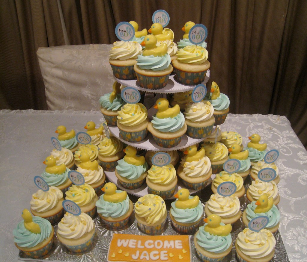 Rubber Ducky Baby Shower Cupcakes | Jane | Flickr