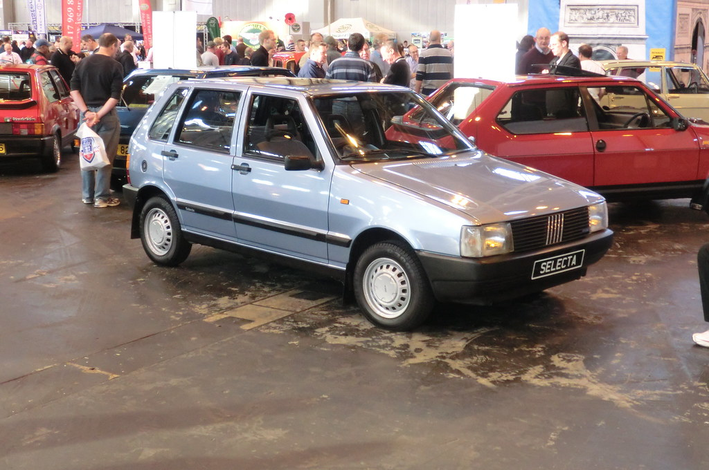 Classic Car Show Nec 2011 Fiat Uno I Remember When These F Flickr