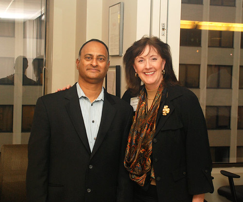 Shashi Bellamkonda & Cary Hatch | by Capitol Communicator