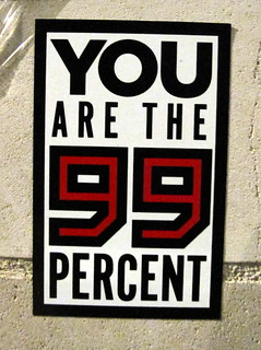 You are the 99 percent | by duncan