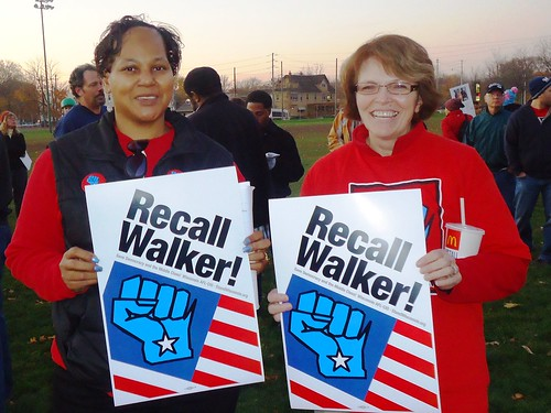 Recall Kick-Off Rally in Milwaukee | by wisaflcio