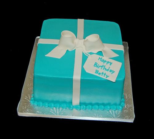 Tiffany Cake Ideas