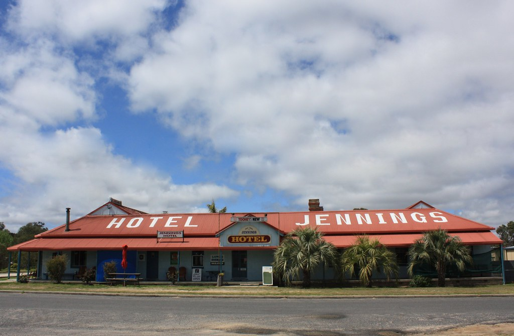 The Jennings Hotel : Jennings hotel jennings nsw. duke street jennings. firsu2026 flickr