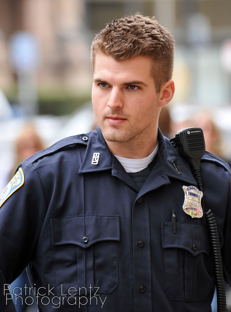 I Introduce To You The Most Handsome Police Officer In T