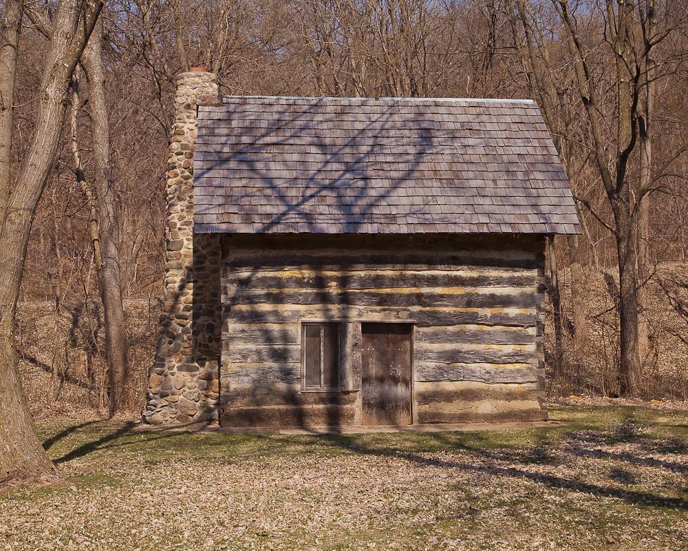 pioneer log cabin ray kasal flickr. Black Bedroom Furniture Sets. Home Design Ideas