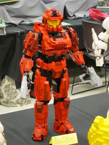 Lego halo spartan warrior brickcon 2011 pez pengelly - Lego spartan halo ...