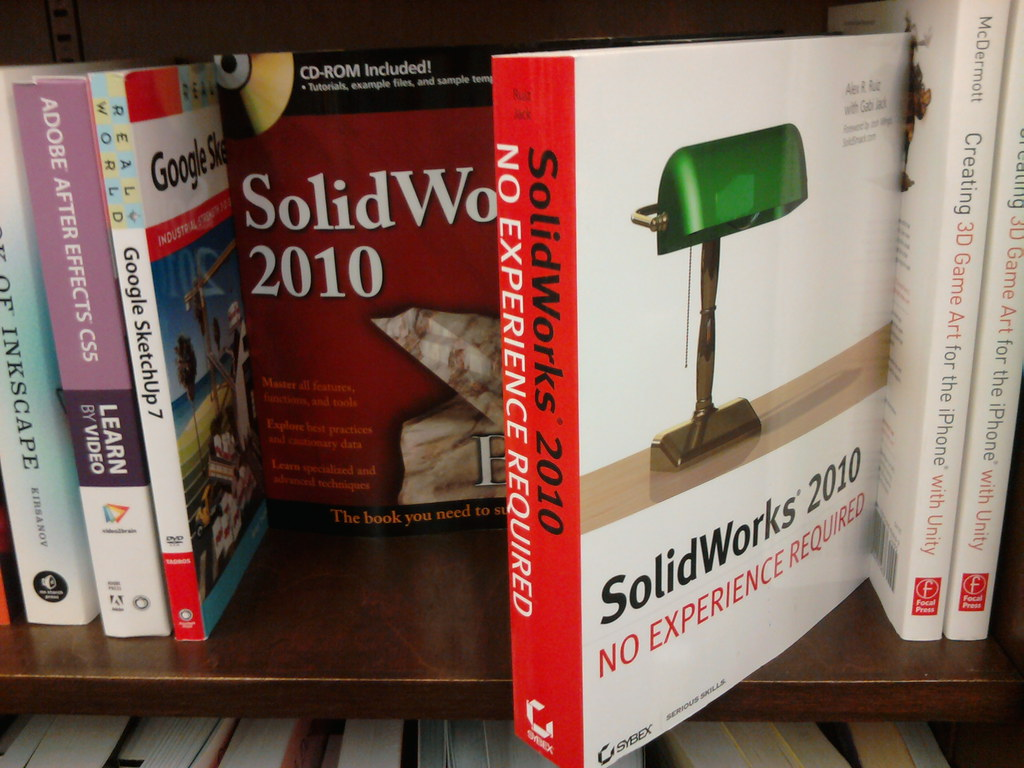 Solidworks 3d Cad Tutorial Books At B N In Sunnyvale Ca Flickr