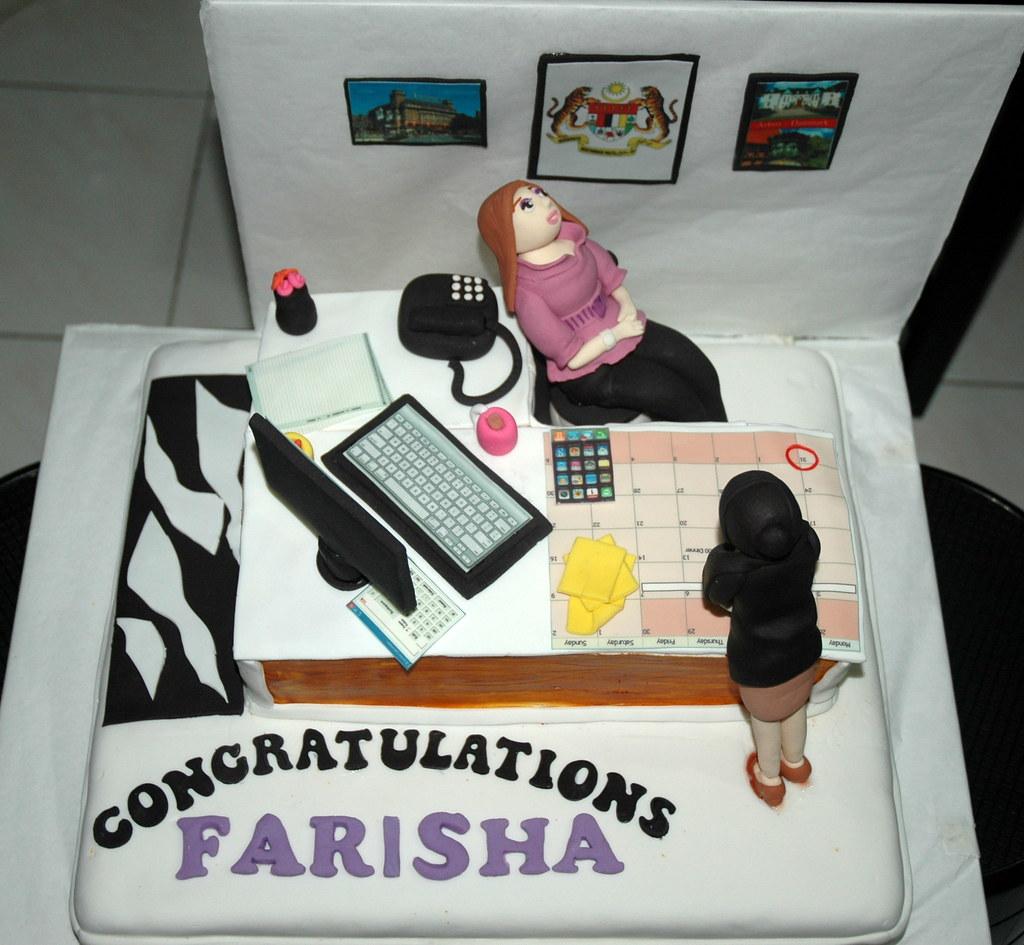 Office Desk Cake Dazzling Cakes Flickr