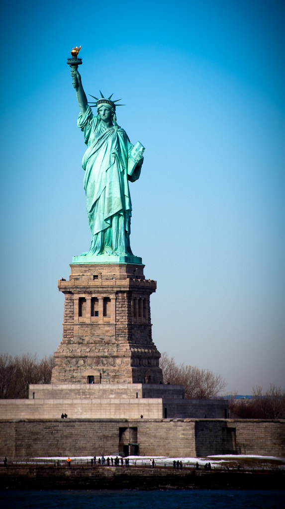 Statue Of Liberty, NYC 2011 | Photo taken on a cold ...