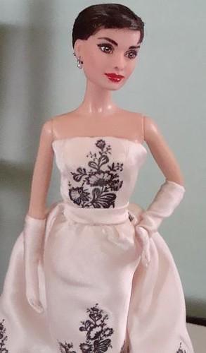 Custom audrey Hepburn Sabrina Doll Cyguy dolls Flickr