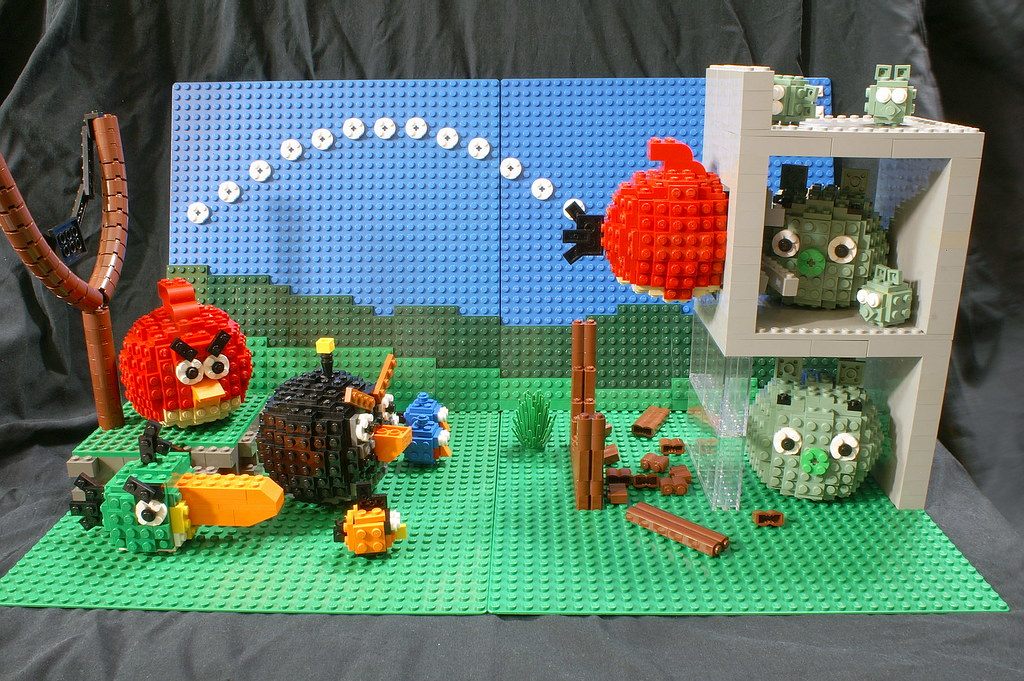 Angry Birds Display (Final)   My final draft of the Angry Bi…   Flickr