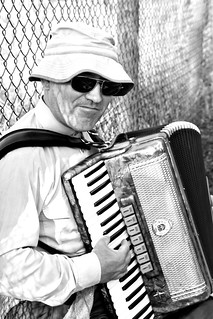 Accordian player | by aebphoto