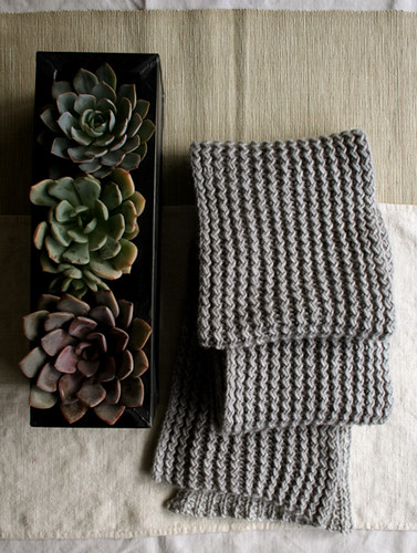 Whit's Knits: Rick Rack Scarf | by the purl bee