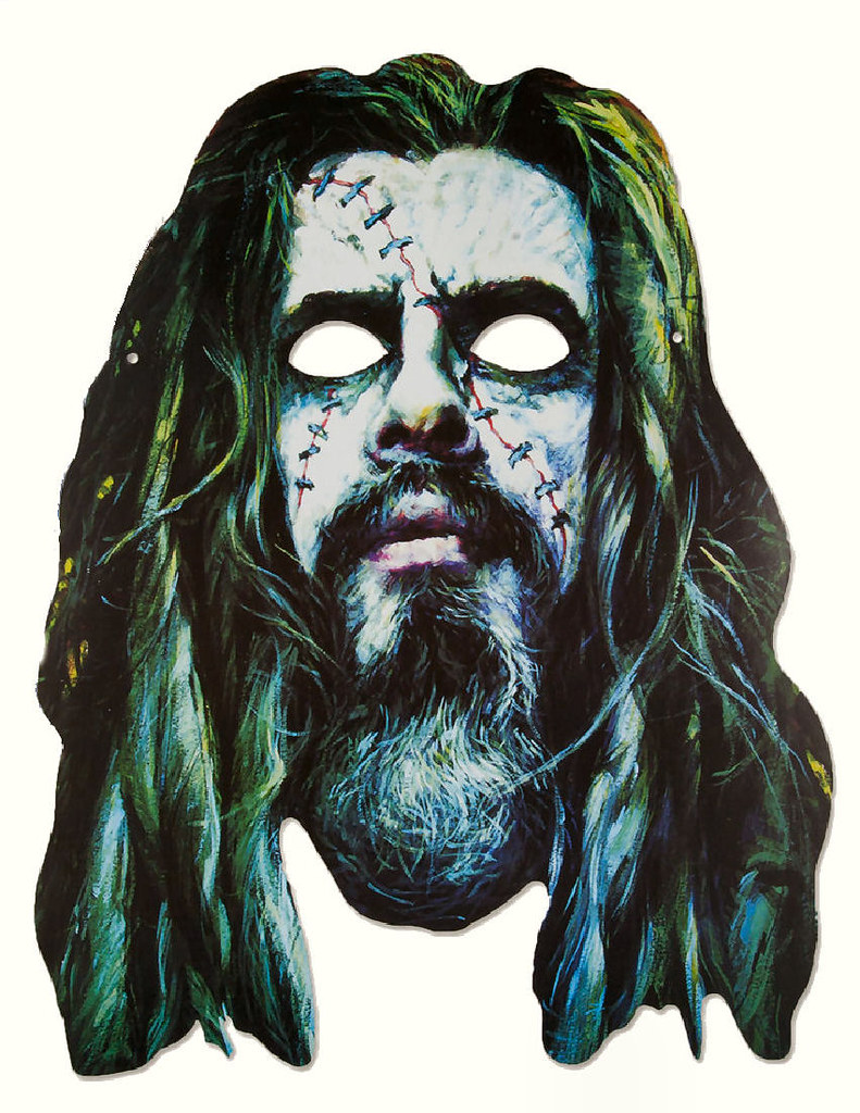 cyclops mask template - free printable zombie mask rob zombie mask combomphotos flickr