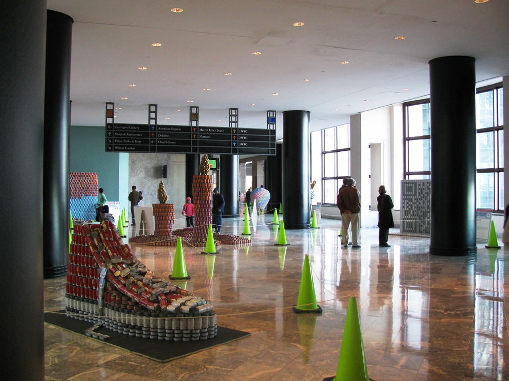 gallery nov 19 2011 canstruction new york city 2011