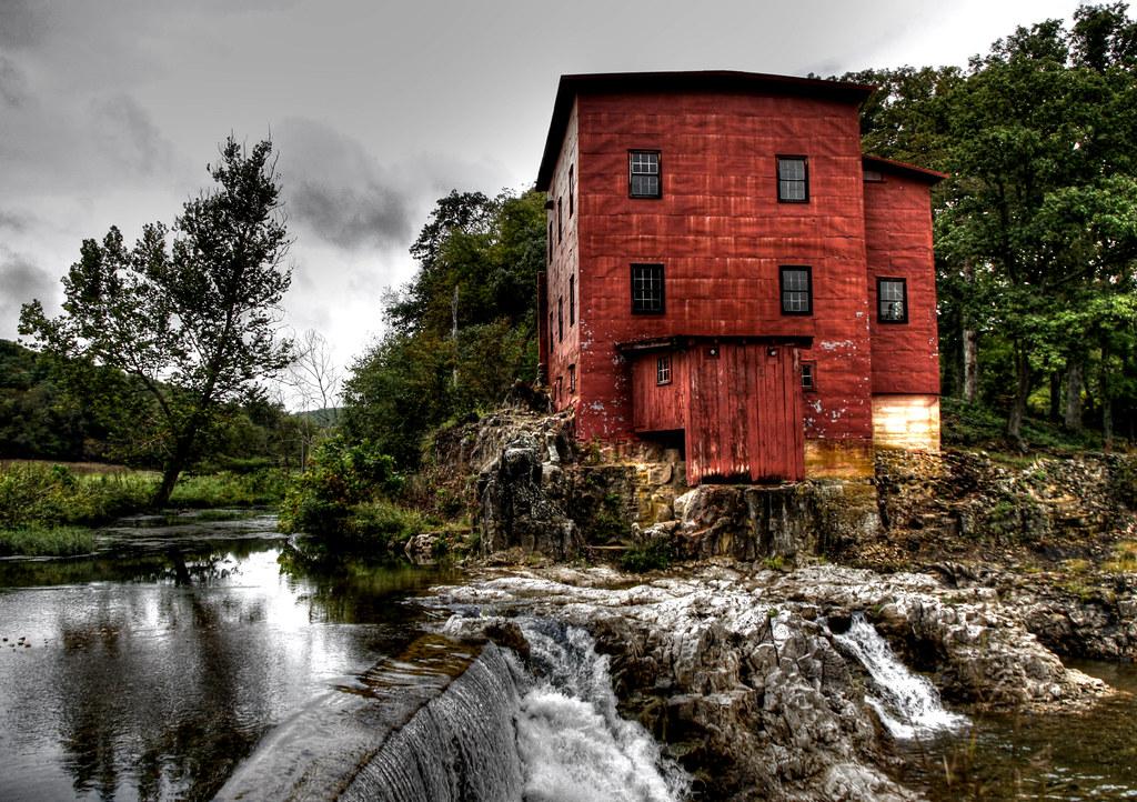 Dillard Mill Squatting On The Banks Of The Huzaah You