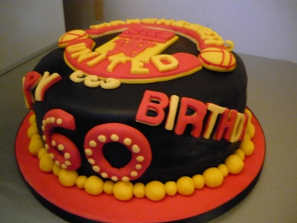 34 Manchester United 60th Birthday Cake 08 October 2011 Flickr