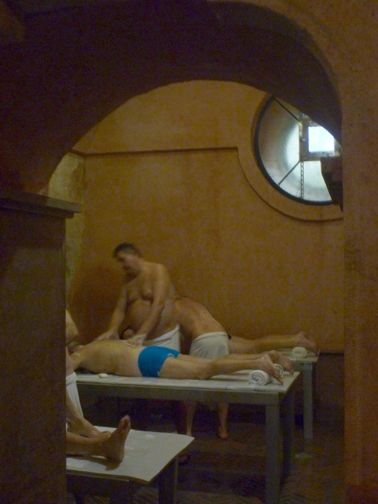 Massage at Rudas Baths | Budapest, Hungary | bmeabroad | Flickr