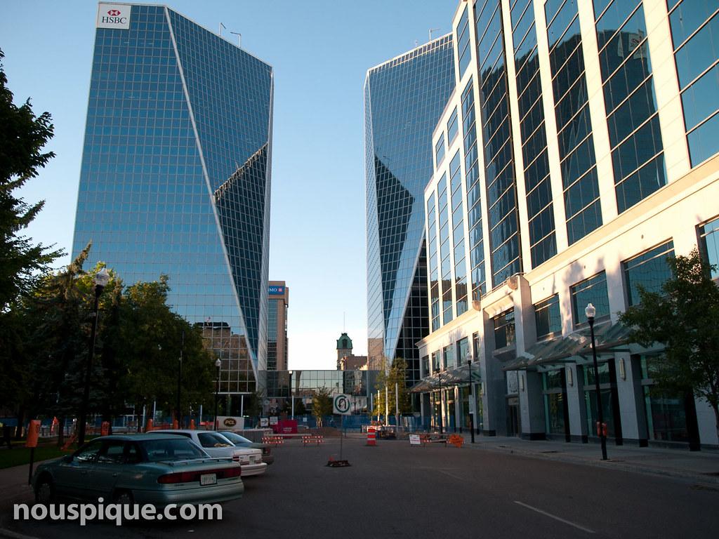 Downtown Regina | Buildings in downtown Regina, Sask ...