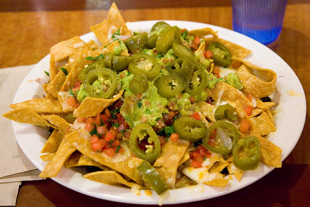 Super Nachos | House-made chips covered in cheese ...