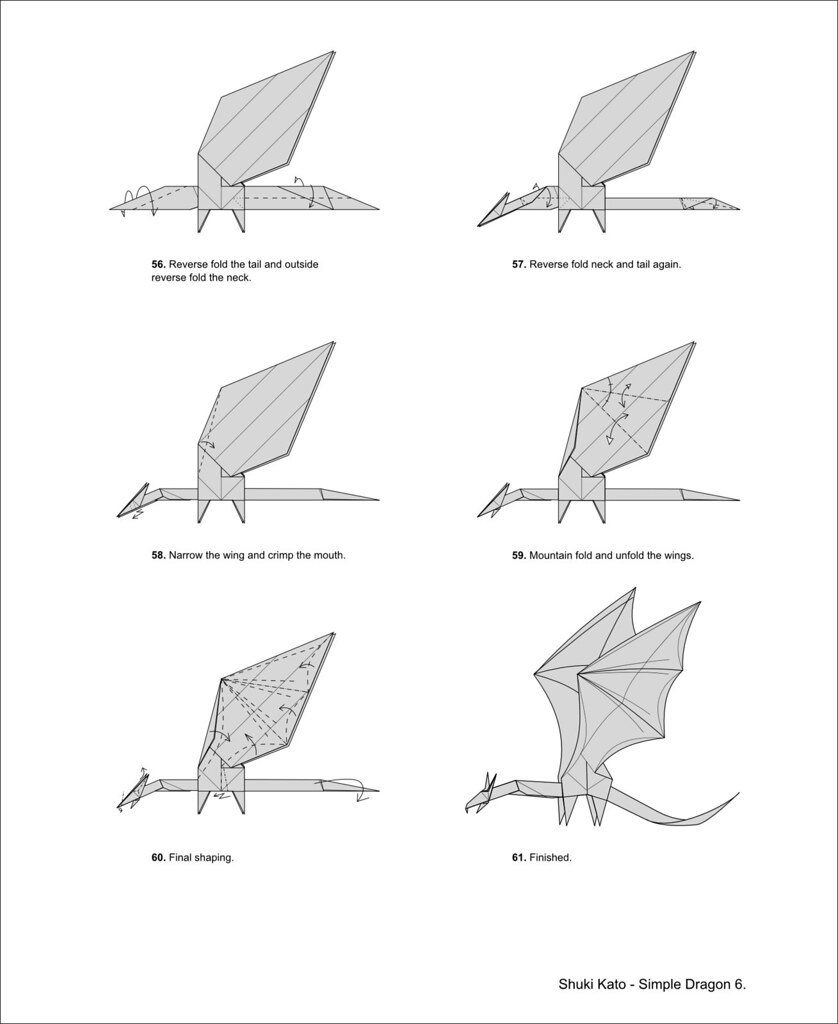 Simple Dragon Diagrams Once Upon A Time I Promised To